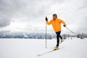 Cross-country skiing in Radstadt